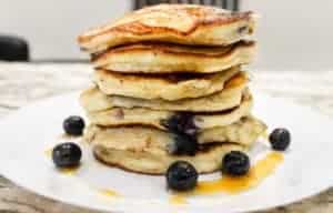 fluffy-blueberry-pancake-recipe