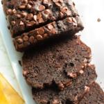 Healthy Chocolate Banana Bread