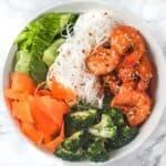 Prawn & Veggie Noodle Bowl