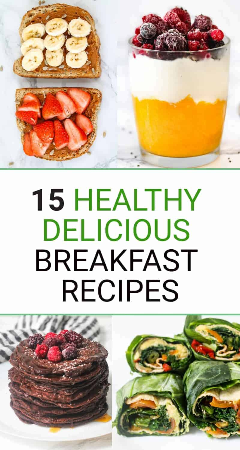 15 Easy And Healthy Breakfast Recipes Sims Home Kitchen