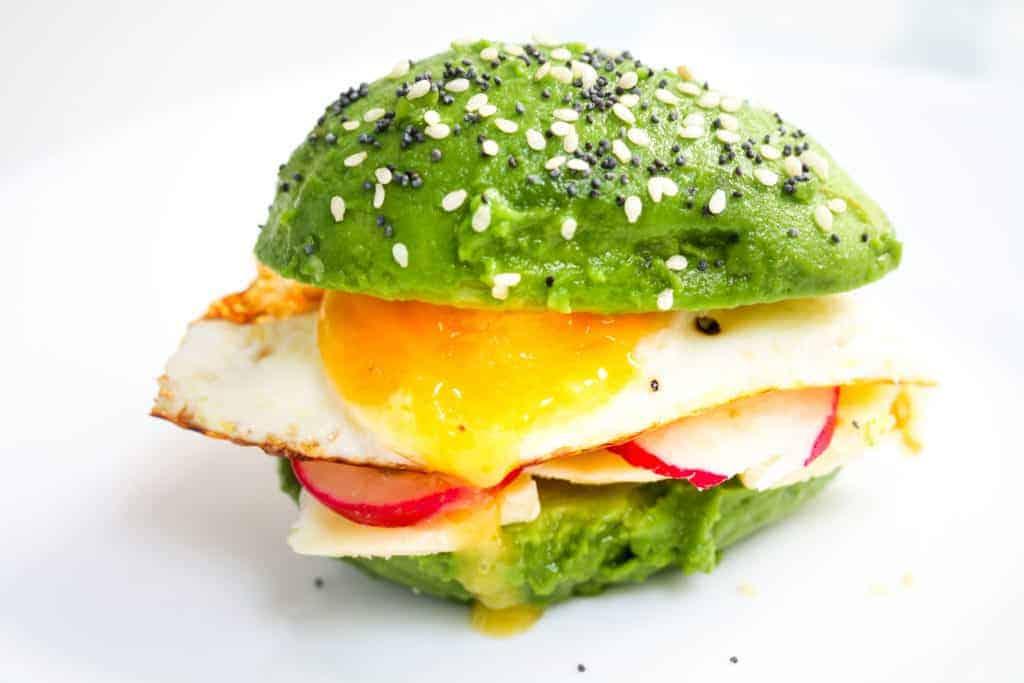 Avocado Breakfast Burger
