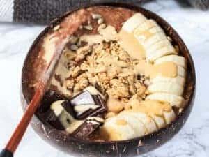 Chocolate Tahini Oats Bowl (1)