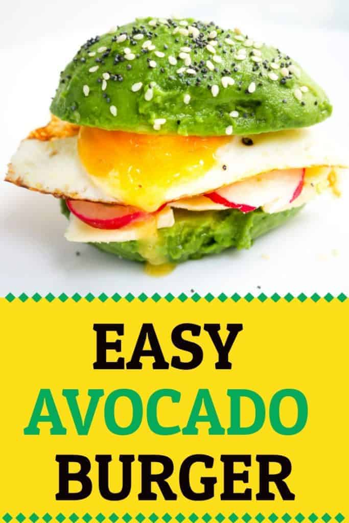 Easy Avocado Burger