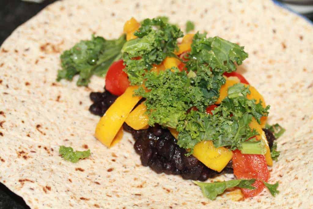vegetarian enchilada filling