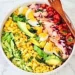 How to Make Salmon Cobb Salad