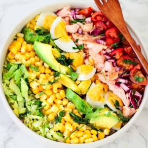 Keto-Salmon-cobb-salad