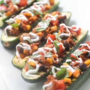 mince-stuffed-zucchini-boats