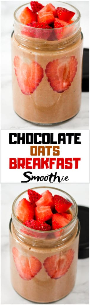 chocolate-oats-breakfast-smoothie