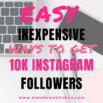 Don't Buy Instagram followers!