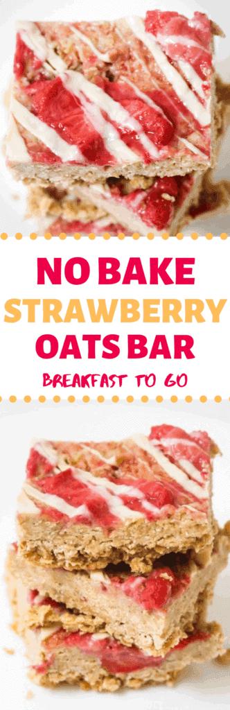no-bake-strawberry-oats-breakfast-bar