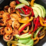 Cajun Shrimp Fajita Pan Recipe