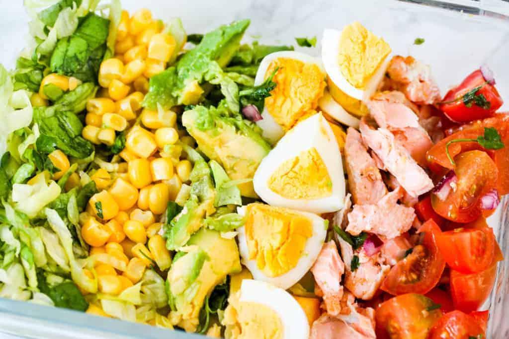Salmon-cobb-salad