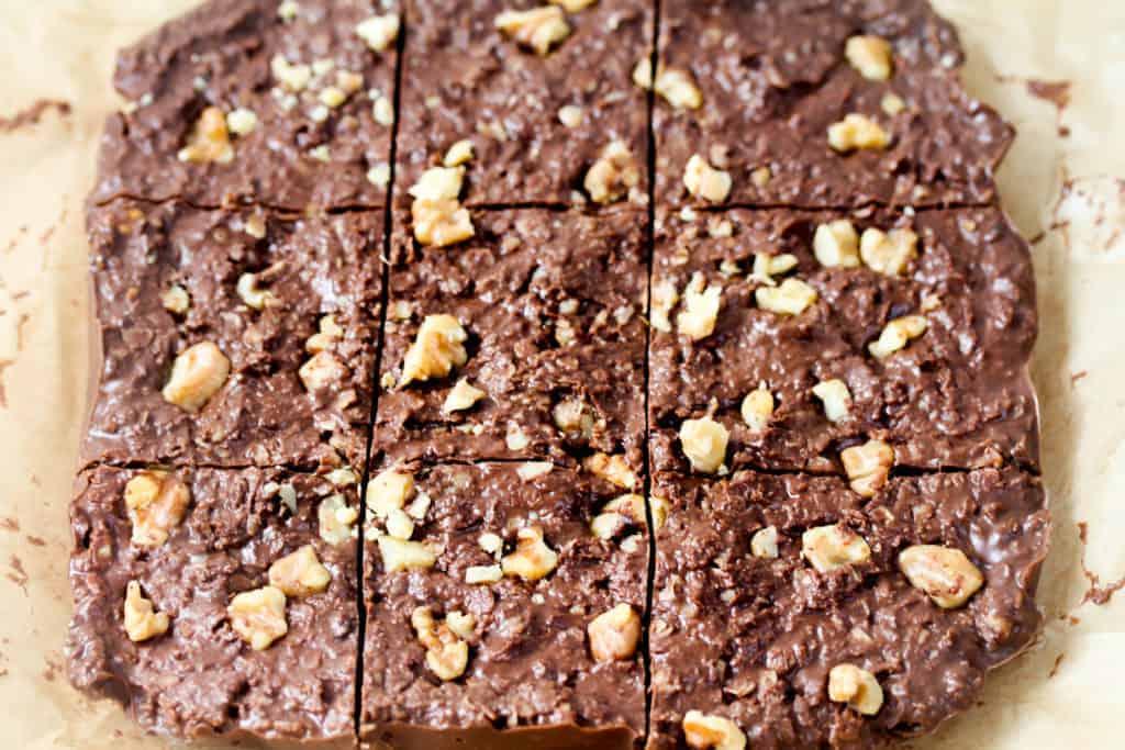Healthy-No-Bake-Chocolate-Oatmeal-Bars