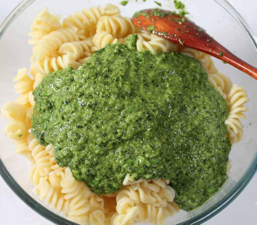 vegetarian-pesto-pasta