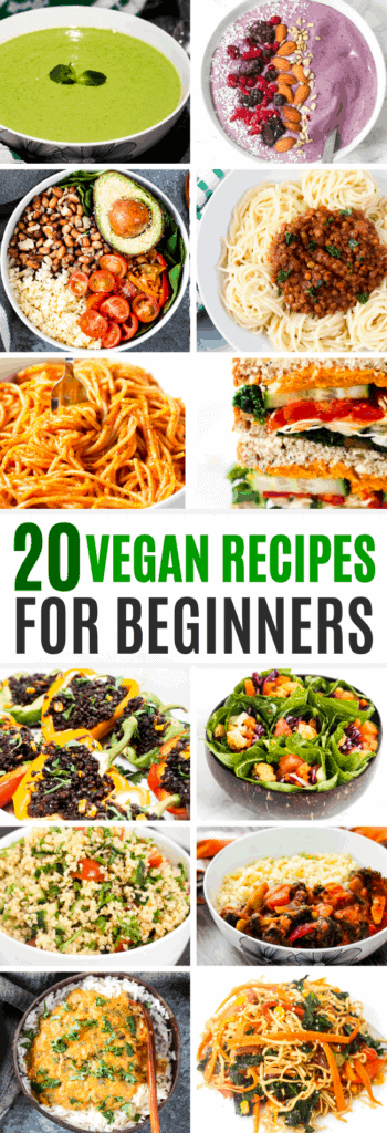 8 Simple Vegan Recipes For Beginners - Sims Home Kitchen