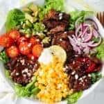 Chili and Lime Steak Salad Bowl