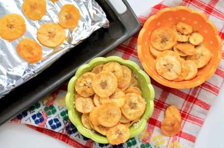 green-banana-plantain-chips naturally vegan, gluten free snack
