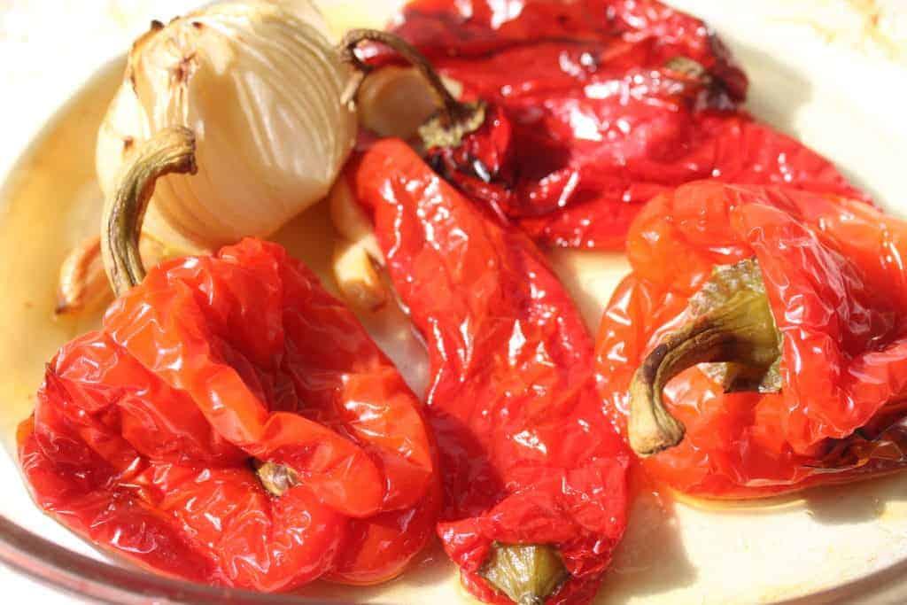 vegan-roasted-red-pepper-spaghetti