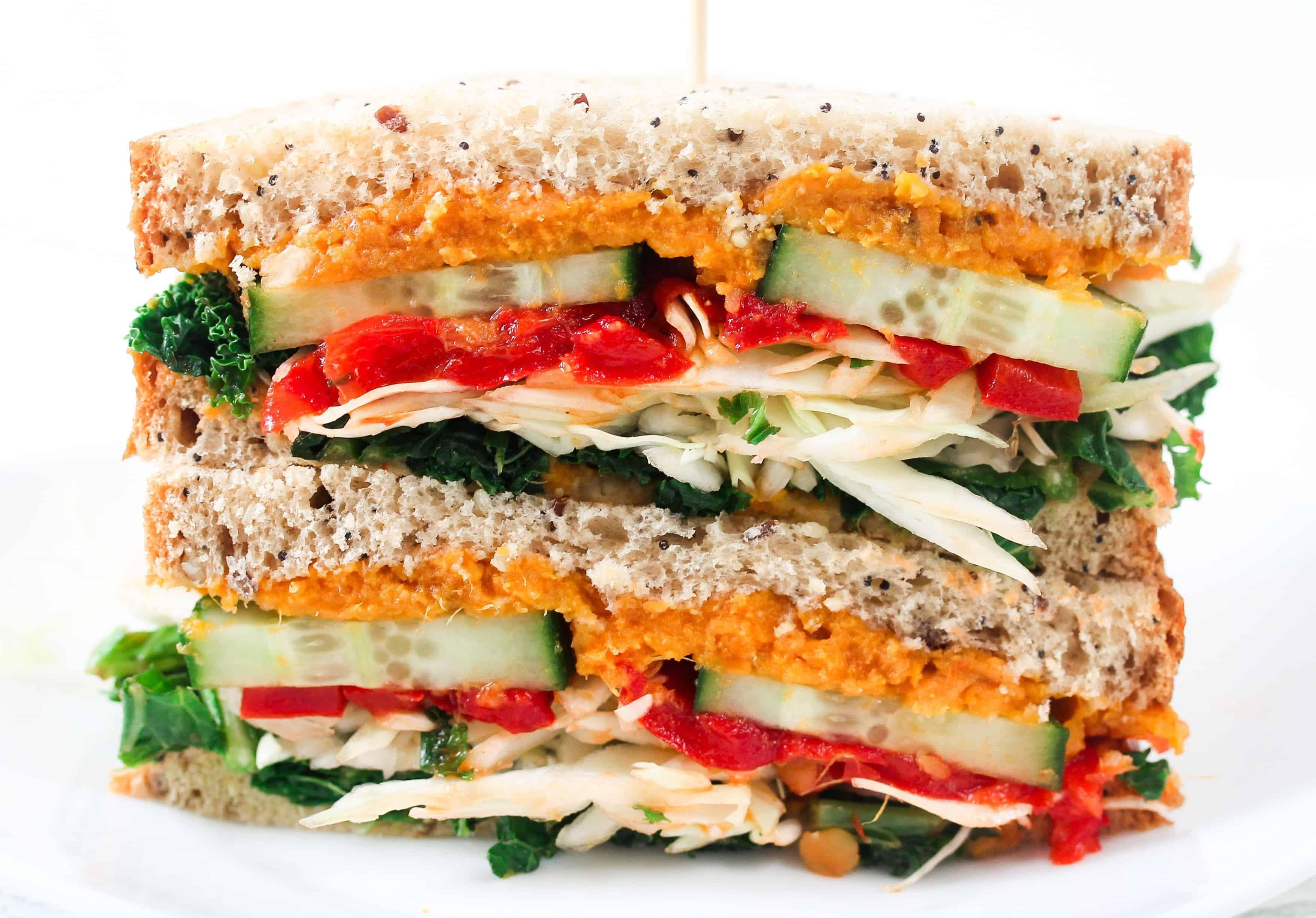 vegan-sweet-potato-and-red-pepper-sandwich