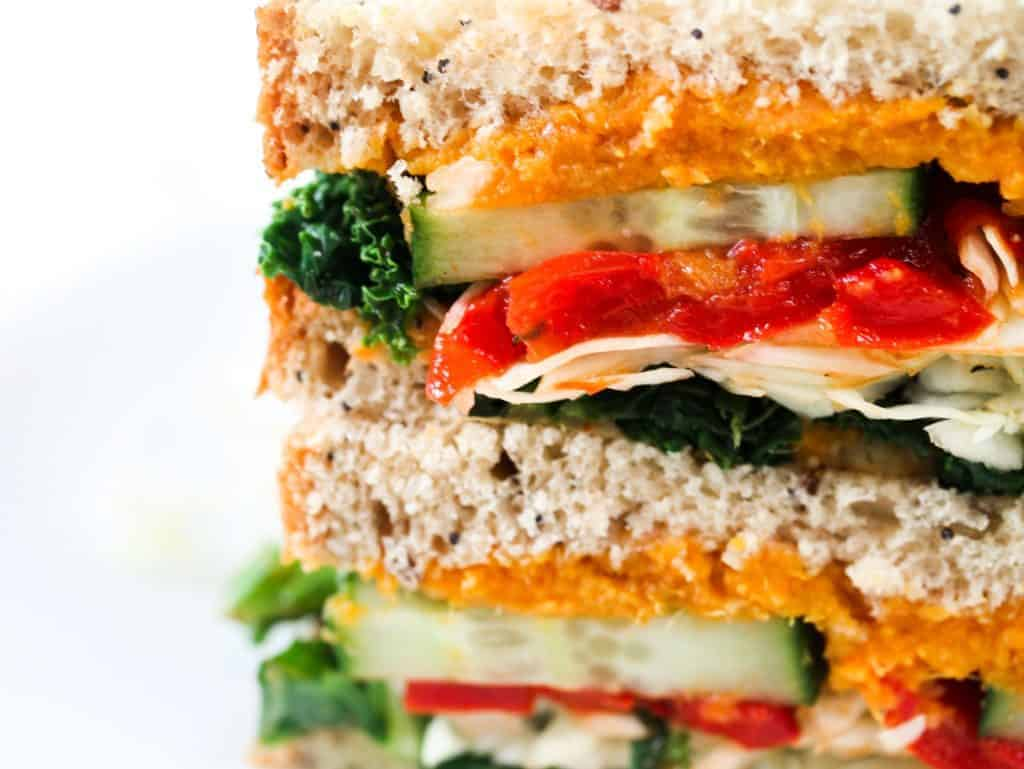 vegan-sweet-potato-and-red-pepper-sandwich