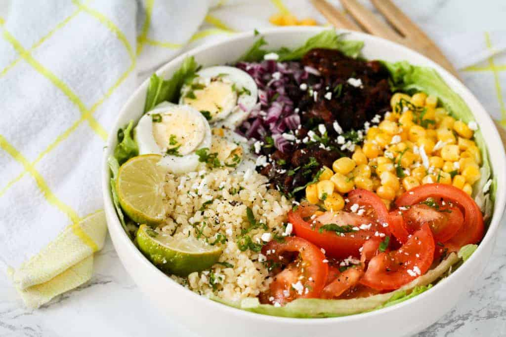 vegetarian-black-bean-veggie-bowl