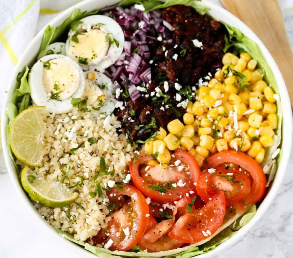 black-bean-veggie-bowl