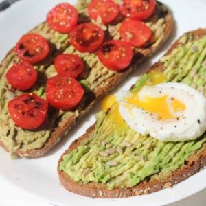 Rye Bread and Avocado