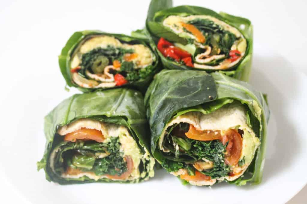 collard-green-breakfast-wraps