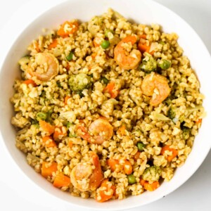 fried-bulgur-shrimps-and-veggies