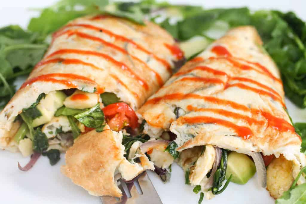 healthy-egg-breakfast-wrap