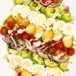 Baby Potato Cobb Salad