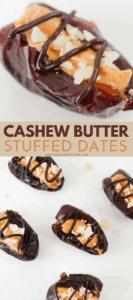 Cashew Butter dates