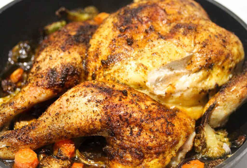 roasted chicken with cajun seasoning