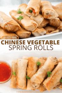 jumbo chinese vegetable spring rolls pin