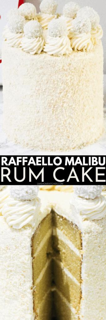 Raffaello-Malibu-cake