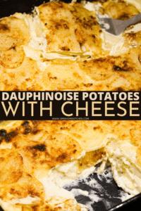 dauphinoise potatoes cheese pin