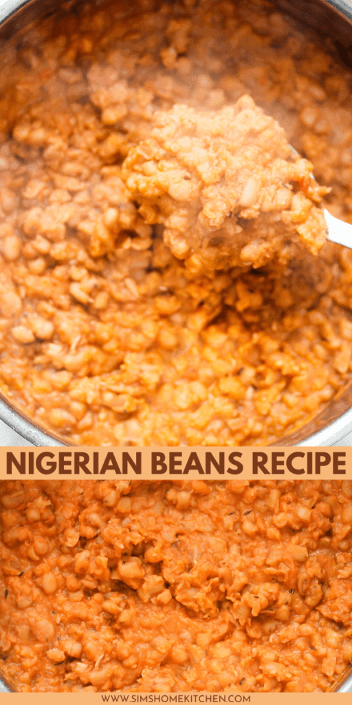 This Nigerian beans recipe (Ewa riro) is a stewed beans dish that will provide warmth and comfort on even the cloudiest days.