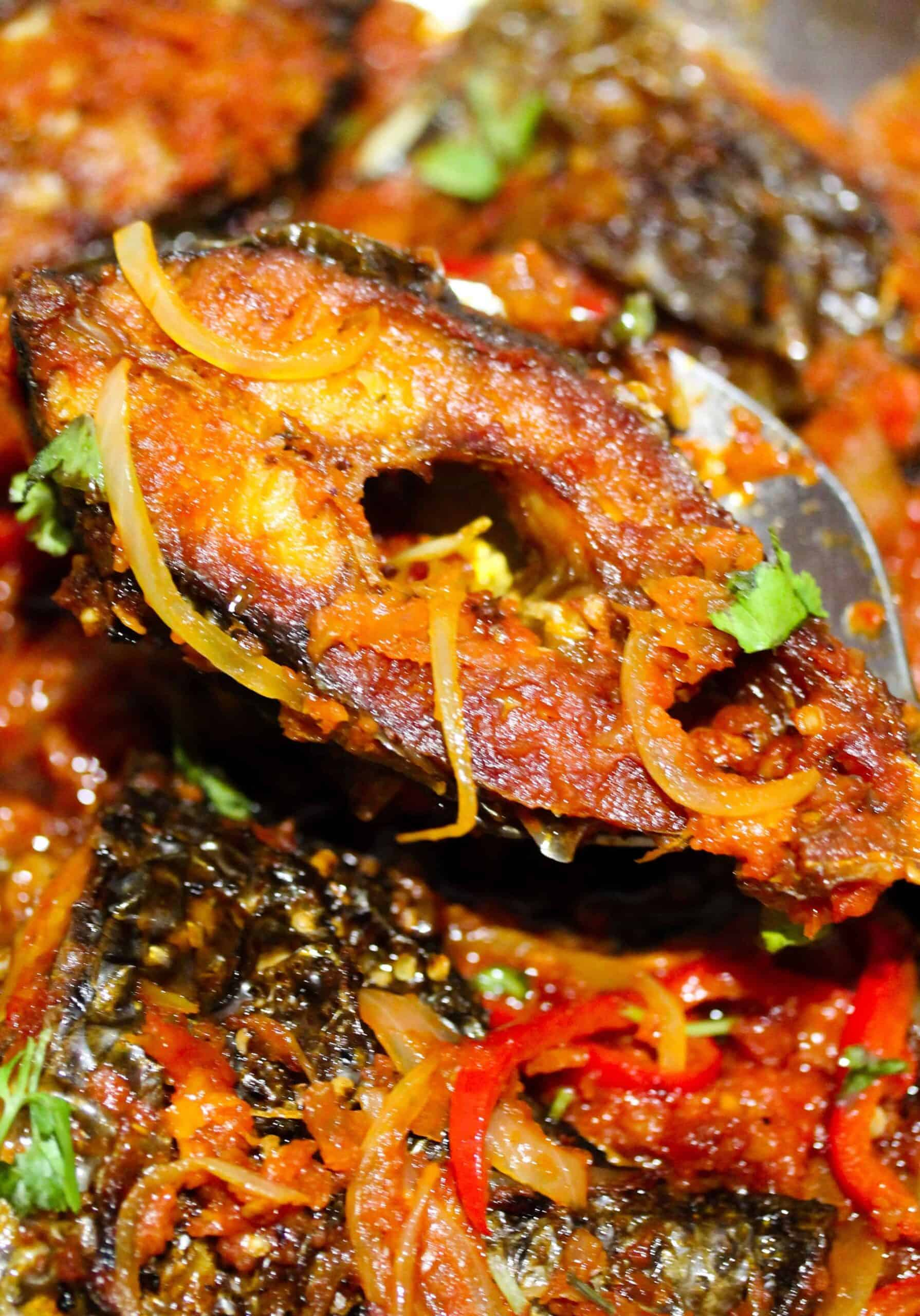 peppered grilled tilapia