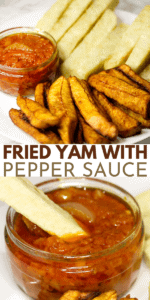 dundun fried yam recipe