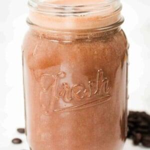 mocha-smoothie