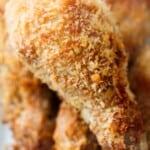 Baked Crispy Chicken Drumsticks