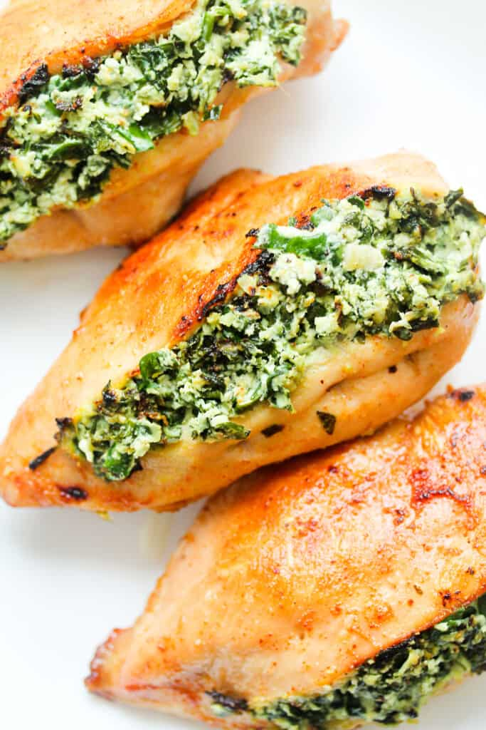stuffed chicken ricotta and spinach