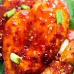 Oven-Baked Firecracker Chicken Fillet