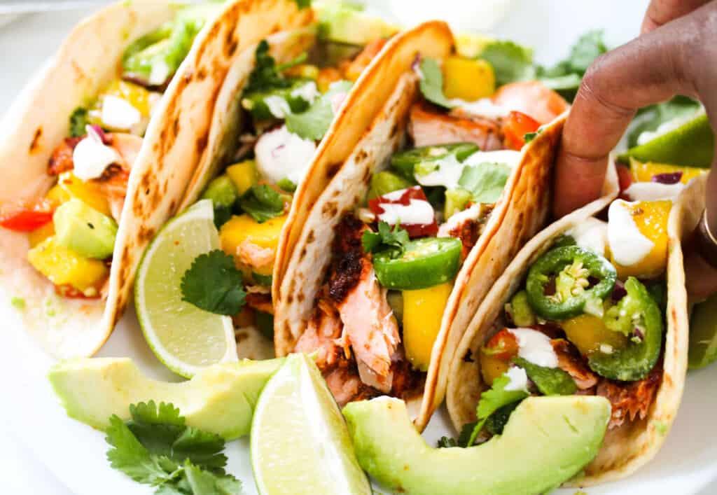salmon taco recipe